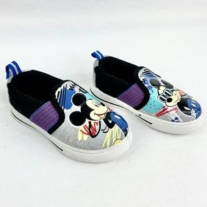 Disney Shoes - Disney Mickey Mouse Toddler Slip Ons Size 7
